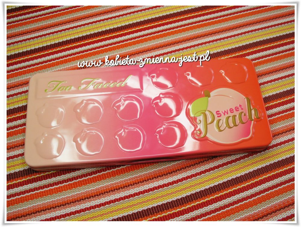 Too Faced Sweet Peach Palette review blog