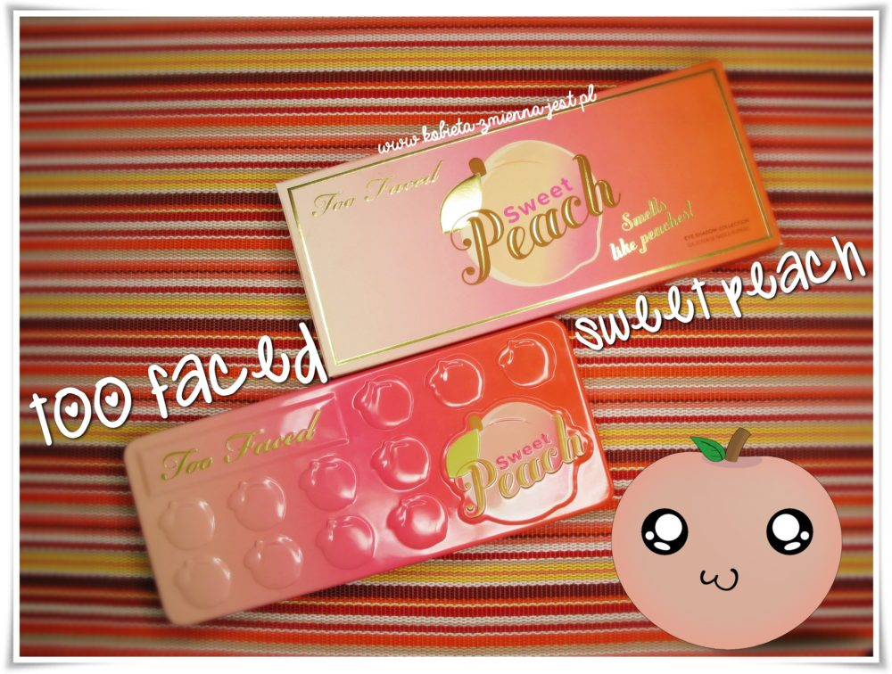 Too Faced Sweet Peach Palette review swatches blog real foto