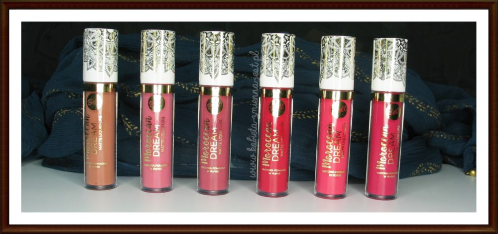 Bell Moroccan Dream Matte Liquid Lips recenzja review beauty blog