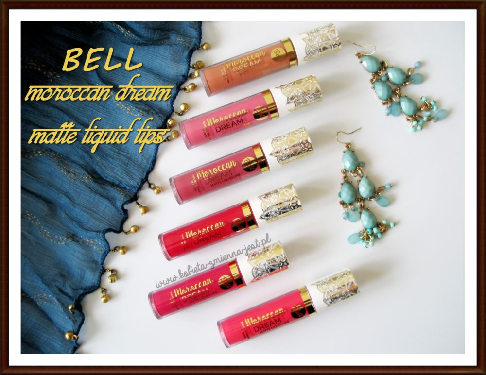 Bell Moroccan Dream Matte Liquid Lips recenzja review blog beauty blog