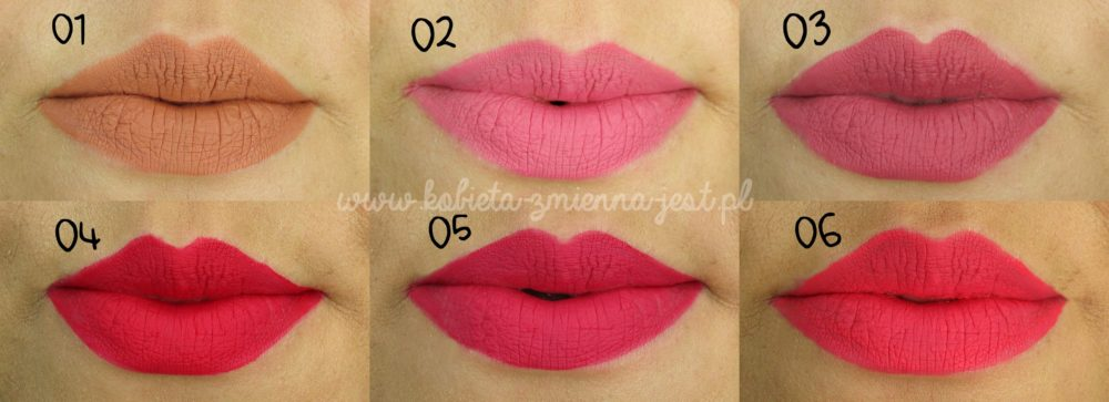 Bell Moroccan Dream Matte Liquid Lips swatche na ustach blog