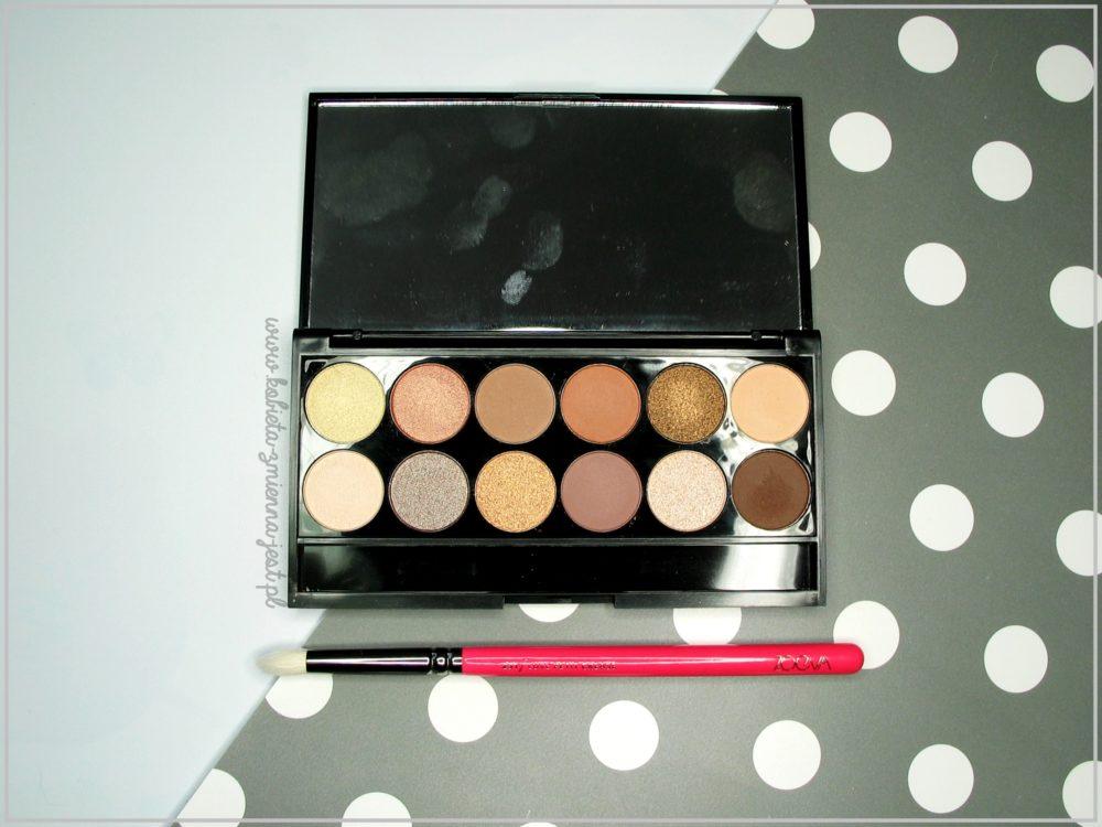 Sleek A new day palette kosmetykomania.pl blog kobieta zmienną jest