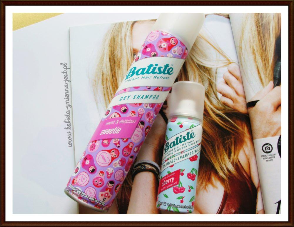 Batiste Dry Shampoo najlepszy suchy szampon beauty blog kobieta zmienną jest