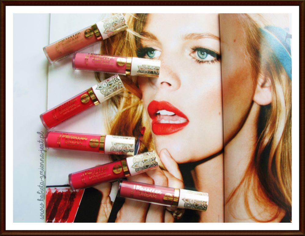 Bell Moroccan Dream Matte Liquid Lips najlepsze matowe pomadki beauty blog