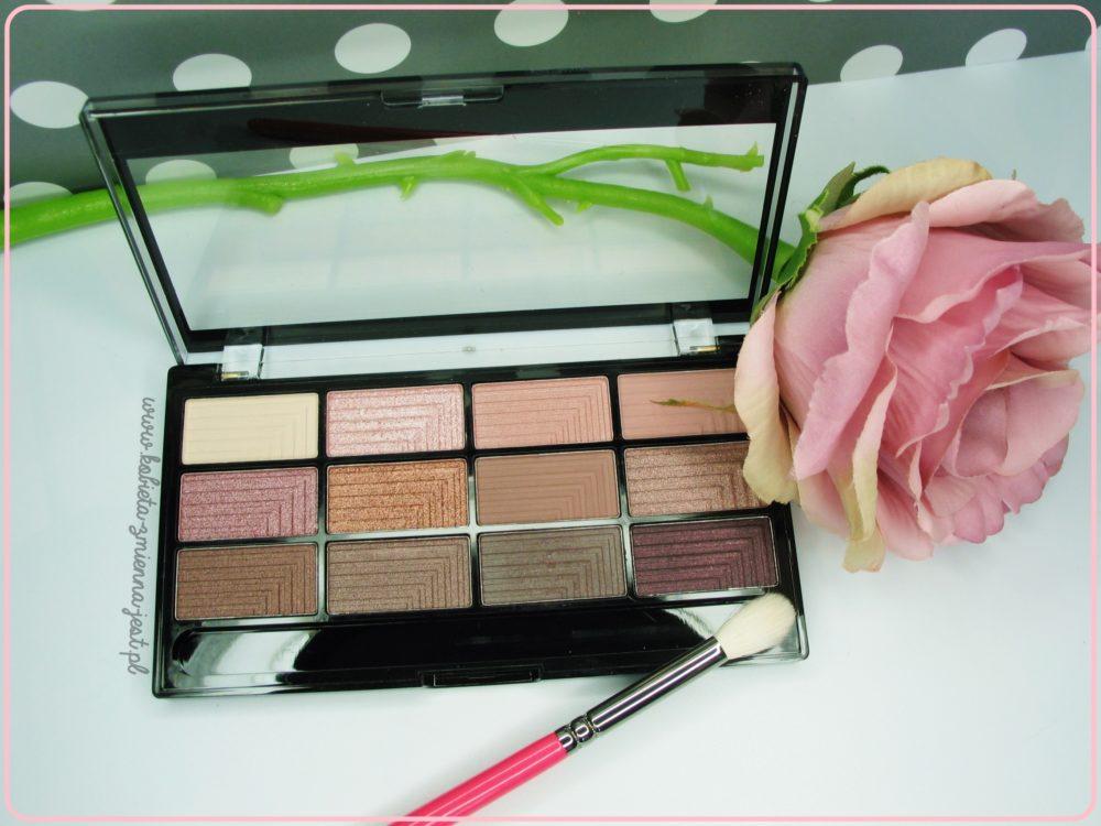 Freedom Makeup Pro 12 Audacious 3 Palette best palette najlepsza paleta do makijażu dziennego beauty blog kosmetykomania.pl