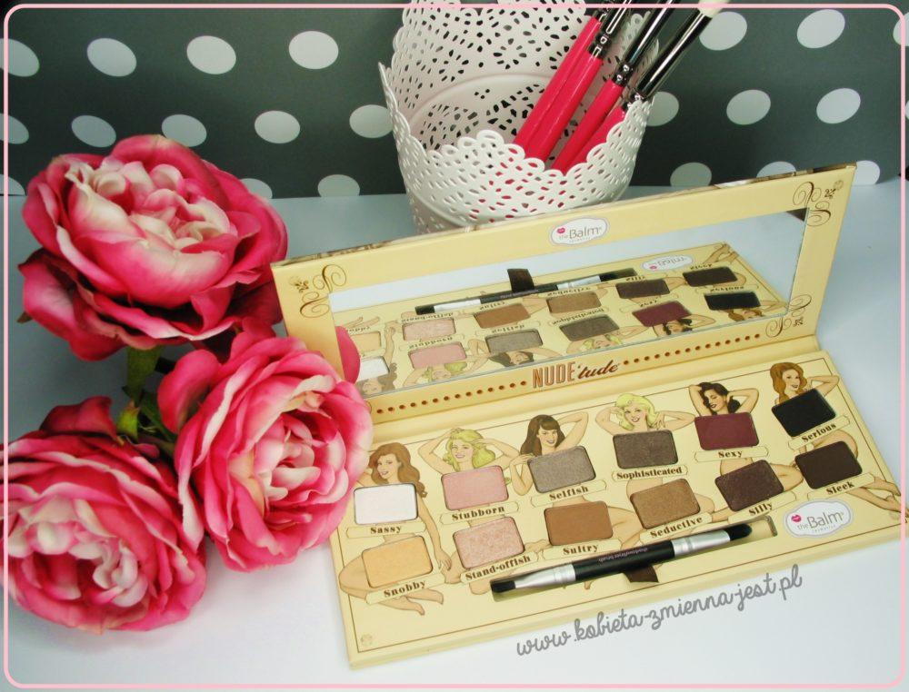 The Balm Nude Tude Palette best palette najlepsza paleta do makijażu dziennego beauty blog kosmetykomania.pl