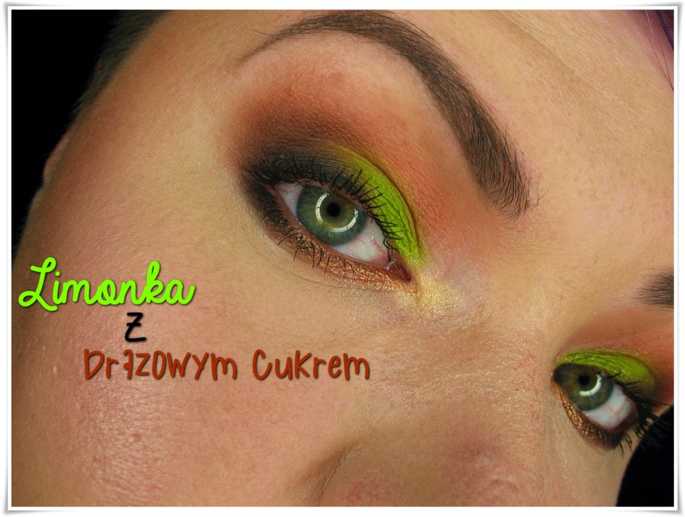 makijaż makeup blog limonka z brązem makeup revolution colour chaos palette Chocolate vice palette salted caramel palette beauty blog