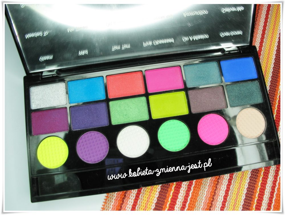 Makeup Revolution Ultimate Colour Chaos Palette dupe urban decay electric
