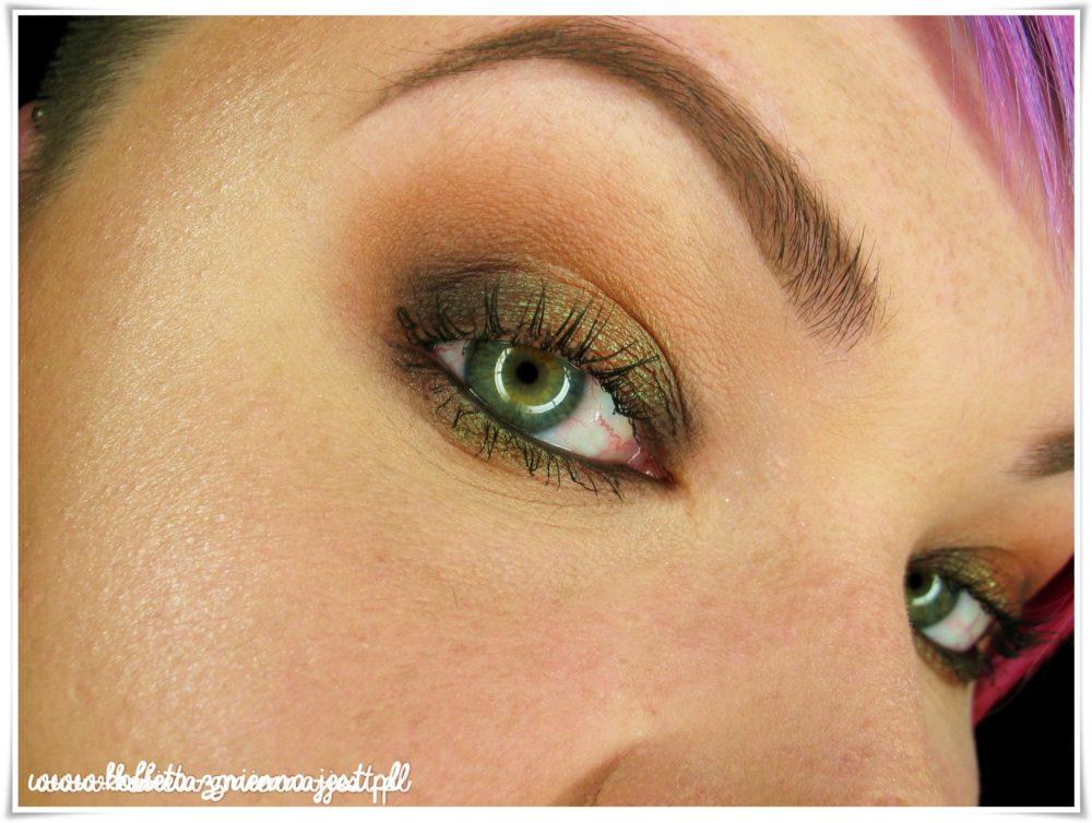 glamshadows perskie oko swatche makijaż piękne duochromy beauty blog