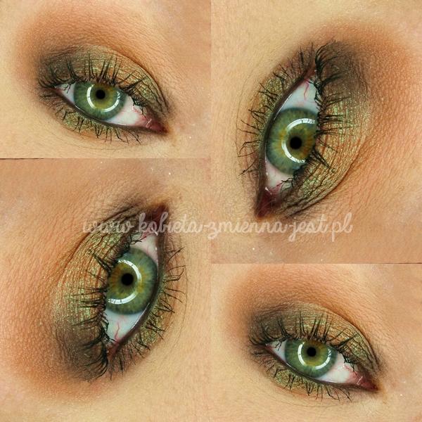 glamshadows perskie oko swatche makijaż piękne duochromy eyes