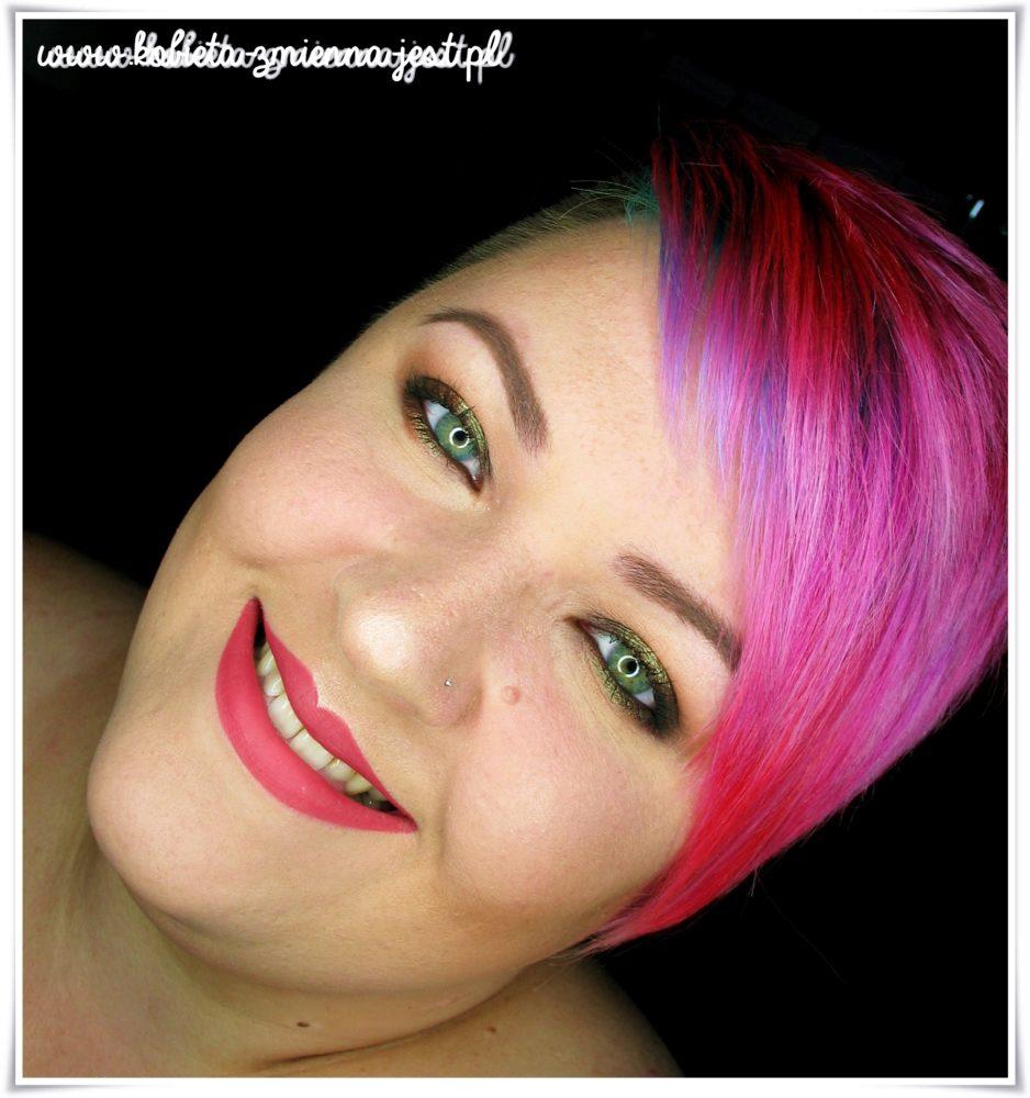 glamshadows perskie oko swatche makijaż piękne duochromy face 2