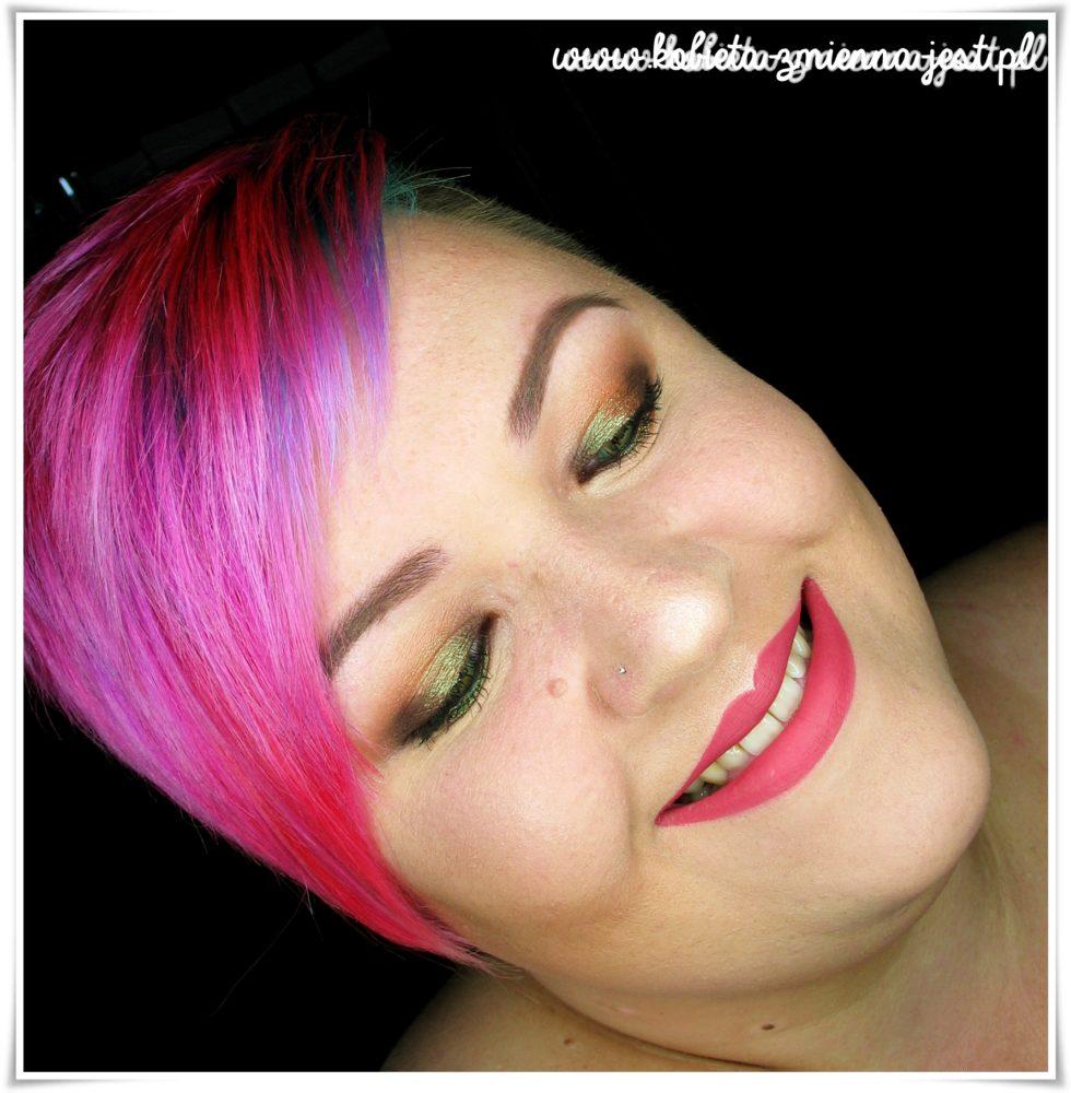 glamshadows perskie oko swatche makijaż piękne duochromy face