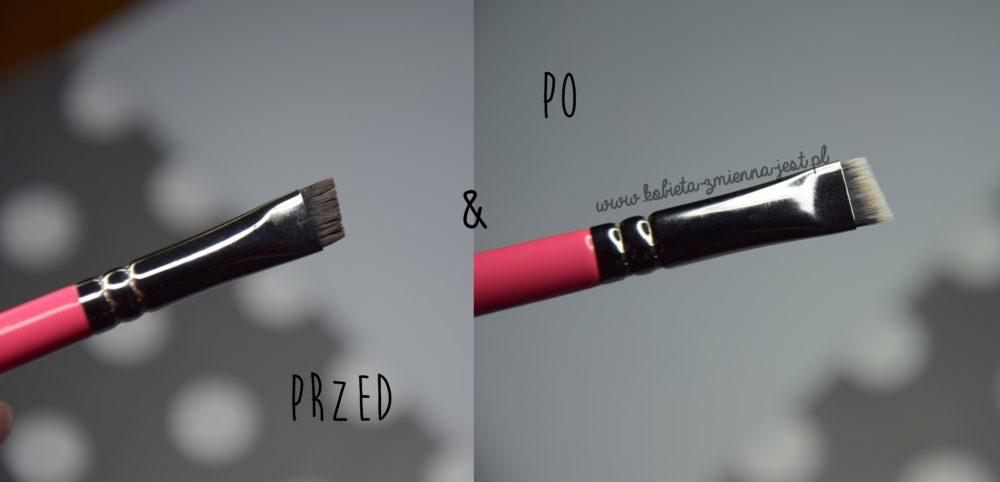 jak wyczyścić pędzle i gąbki do makijażu domowe sposoby tanie sposoby beauty blog kobiece porady czyszczenie olejkiem do makijażu