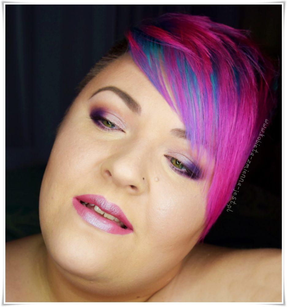 Makijaż Magiczny Jednorożec Kobieta Zmienną Jest